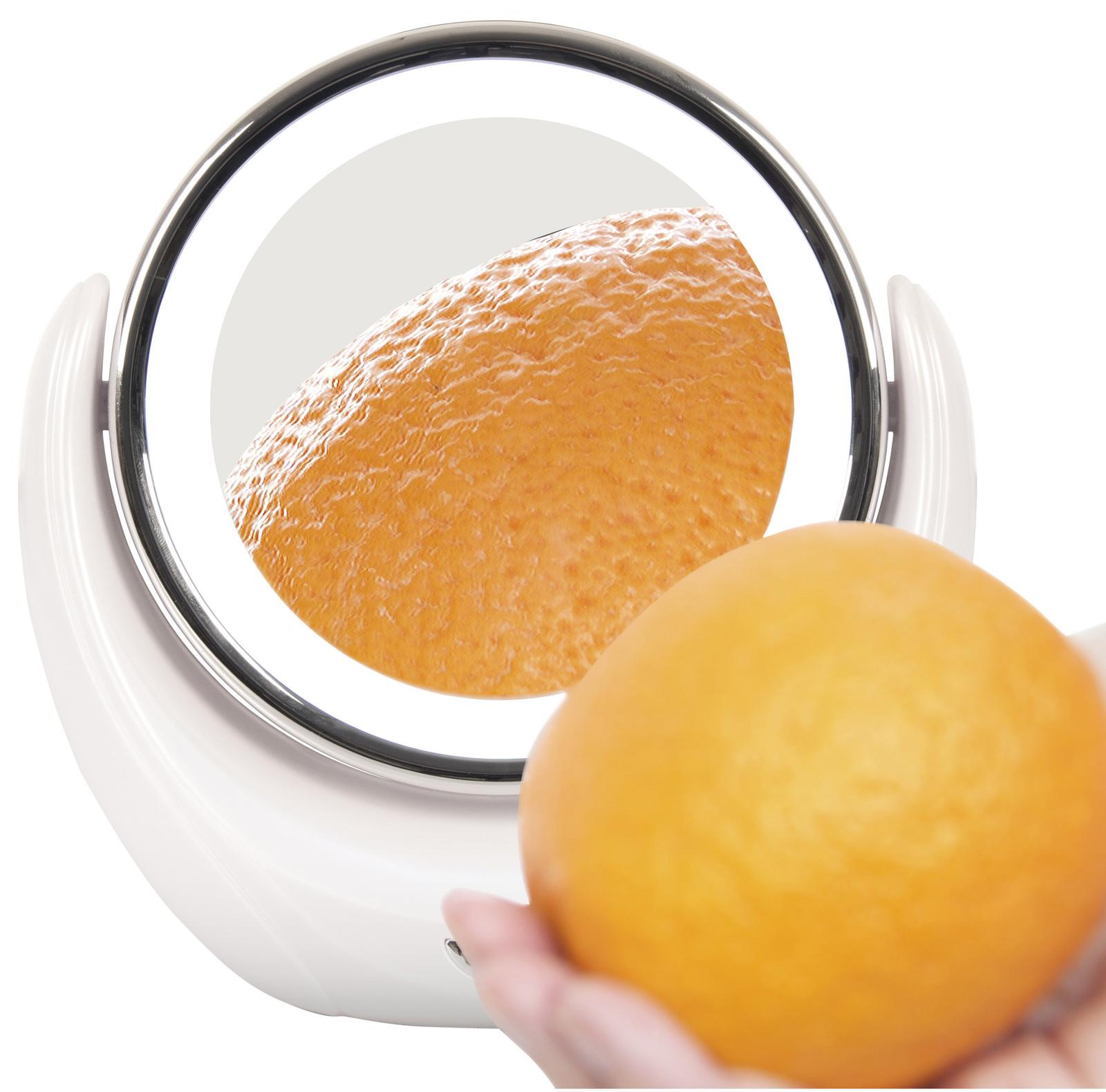 Illuminated 5x Magnifying Makeup Mirror image