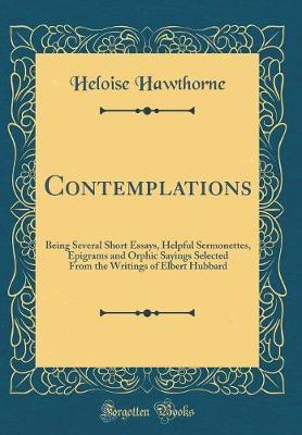 Contemplations by Heloise Hawthorne