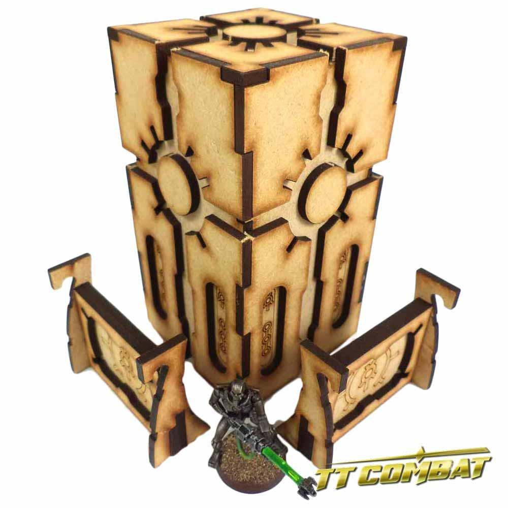 TTCombat: Tabletop Scenics - Cyber Tower image