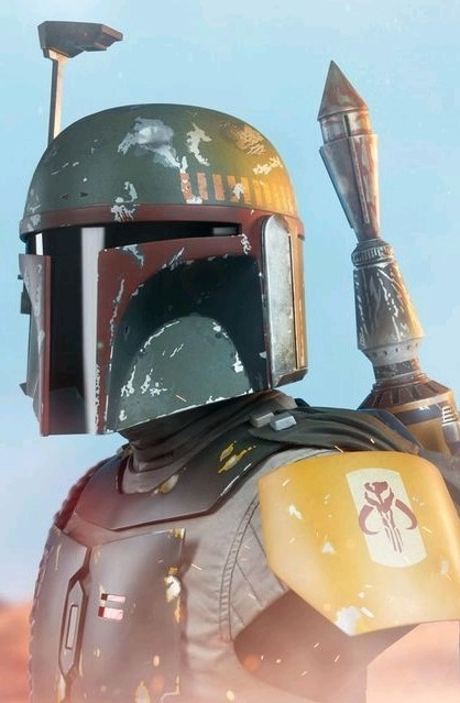 Star Wars: Boba Fett - Life-Size Bust