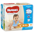 Huggies Ultra Dry Nappies - Crawler Boy 6-11kg (22)