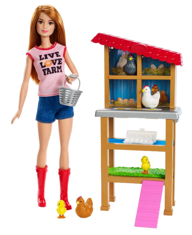 Barbie Careers - Chicken Farmer Playset