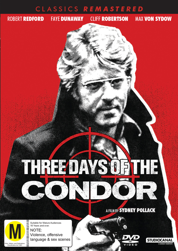 Classics Remastered: Three Days Of The Condor on DVD