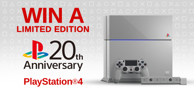 Your Chance To Win A 20th Anniversary Ps4 Console At Mighty Ape Nz