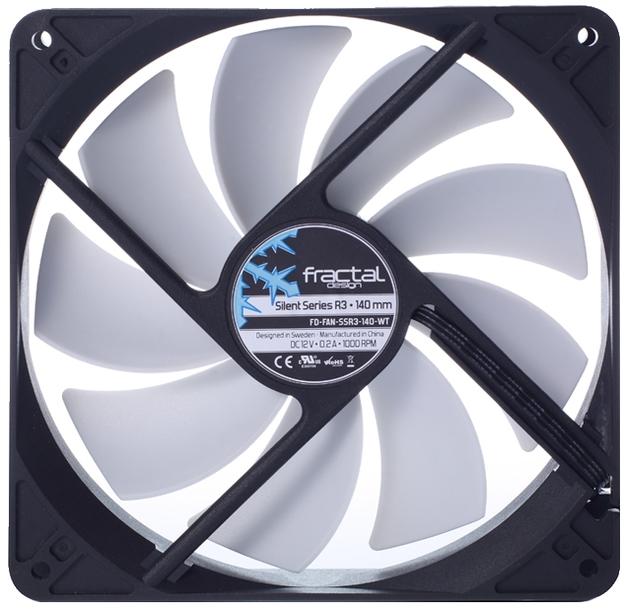 140mm Fractal Design Silent Series R3 Case Fan