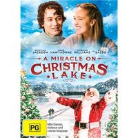 Miracle On Christmas Lake on DVD