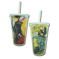 Fullmetal Alchemist Brotherhood Springtime Tumbler with Lid