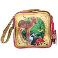 DeKunstboer Bambi Square Bag