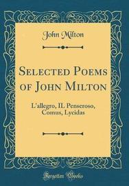 Selected Poems of John Milton by John Milton image