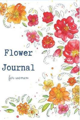 Flower journal for women by Abi Gail