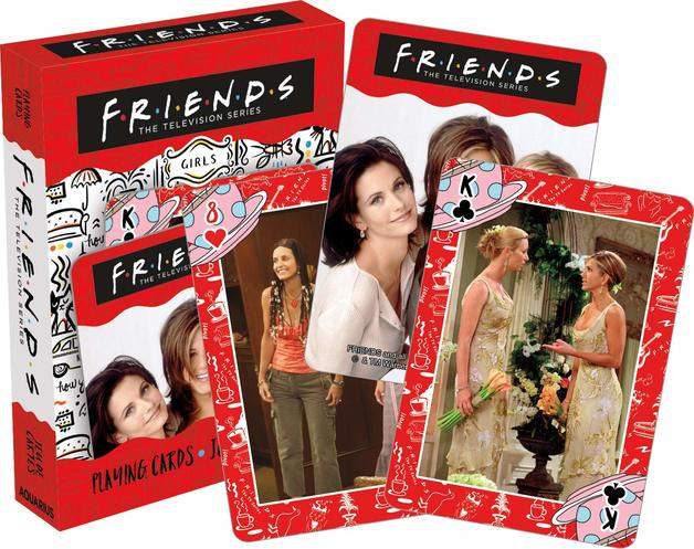 Friends – Girls Playing Cards