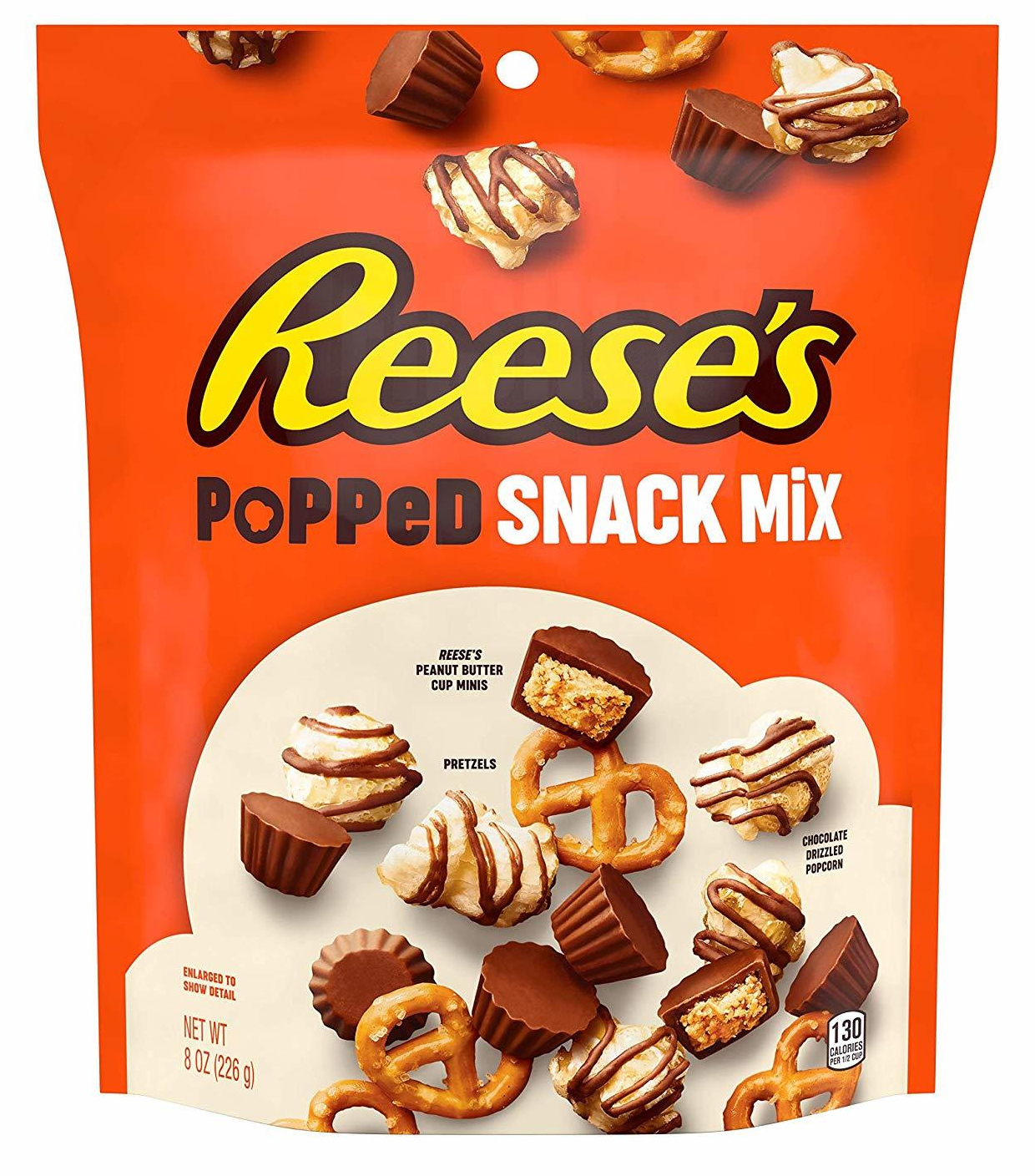 Reese's Popped Snack Mix Pouch 226g image