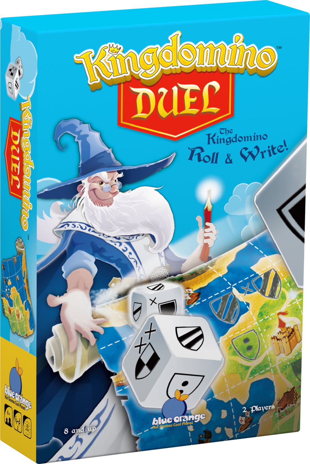 Kingdomino: Duel - Dice Game image