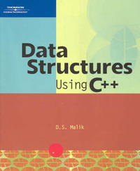 Data Structures Using C++ by Malik Davender image