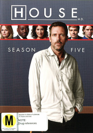 House, M.D. - Season 5 (6 Disc Set) on DVD