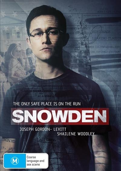 Snowden on DVD
