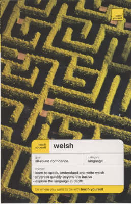 Teach Yourself Welsh by Christine Jones