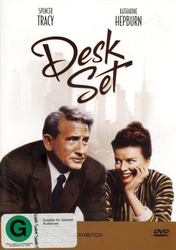 Desk Set on DVD image