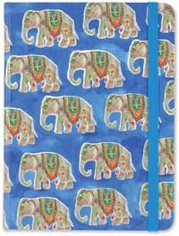 Peter Pauper Press: Medium Journal - Elephant Parade