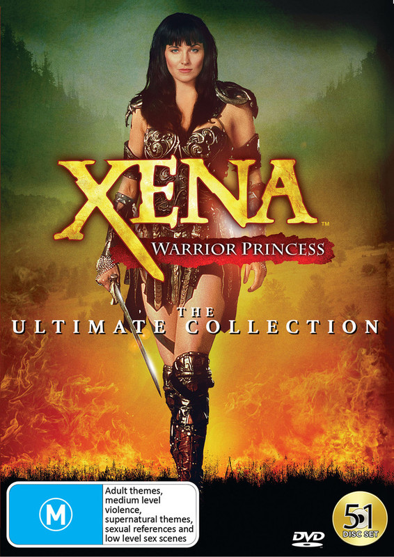 Xena: The Ultimate Collection (Boxed Set) on DVD