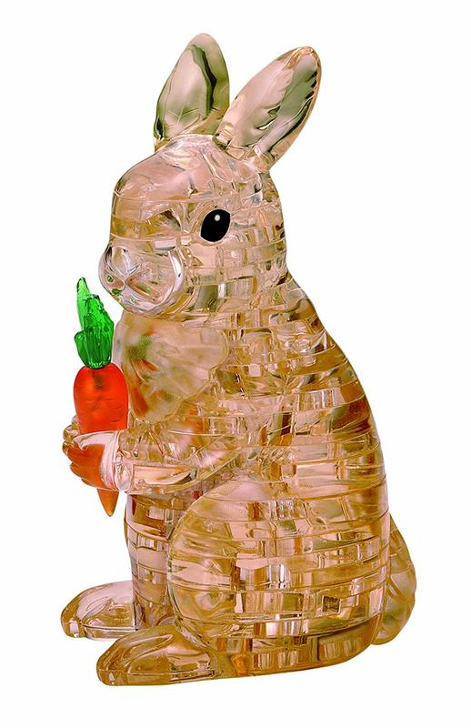 Crystal Puzzle - Brown Rabbit