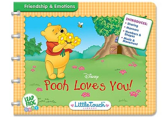 Little Touch Winnie The Pooh - Pooh Loves You image
