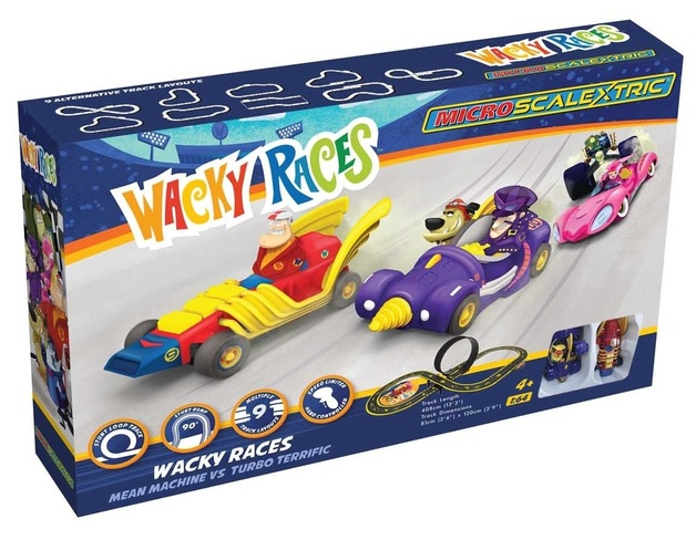 Scalextric: Wacky Races - Micro Slot Car Set