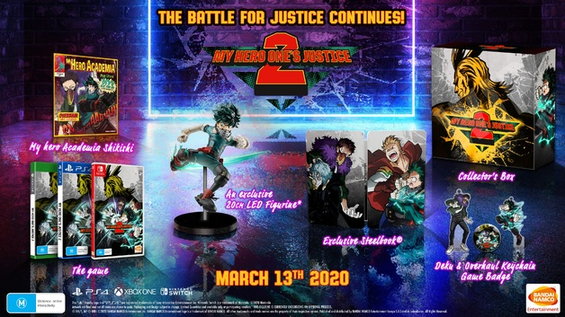 My Hero One's Justice 2 Collector's Edition for Switch