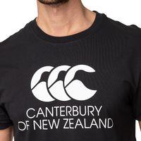 Canterbury: Mens Stadium Tee - Black (X-Large)