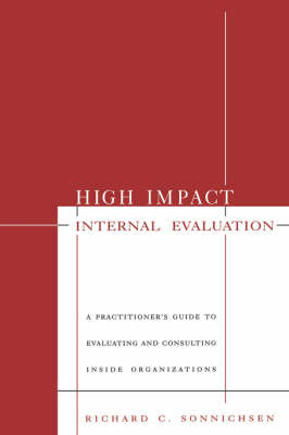 High Impact Internal Evaluation by Richard Sonnichsen image