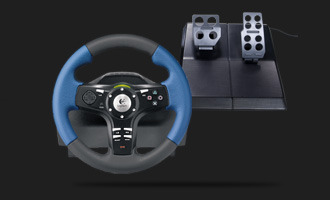 Logitech Driving Force EX Steering Wheel