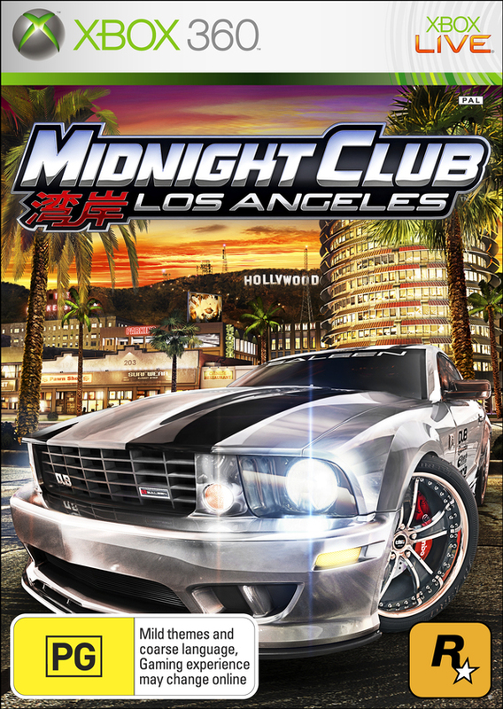Midnight Club: Los Angeles for Xbox 360