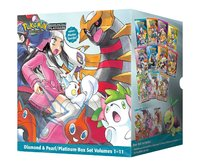Pokemon Adventures: Diamond & Pearl/Platinum Box Set (Complete 1-11) by Hidenori Kusaka