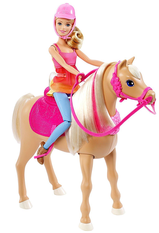 barbie puppy chase pferd