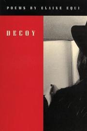 Decoy by Elaine Equi