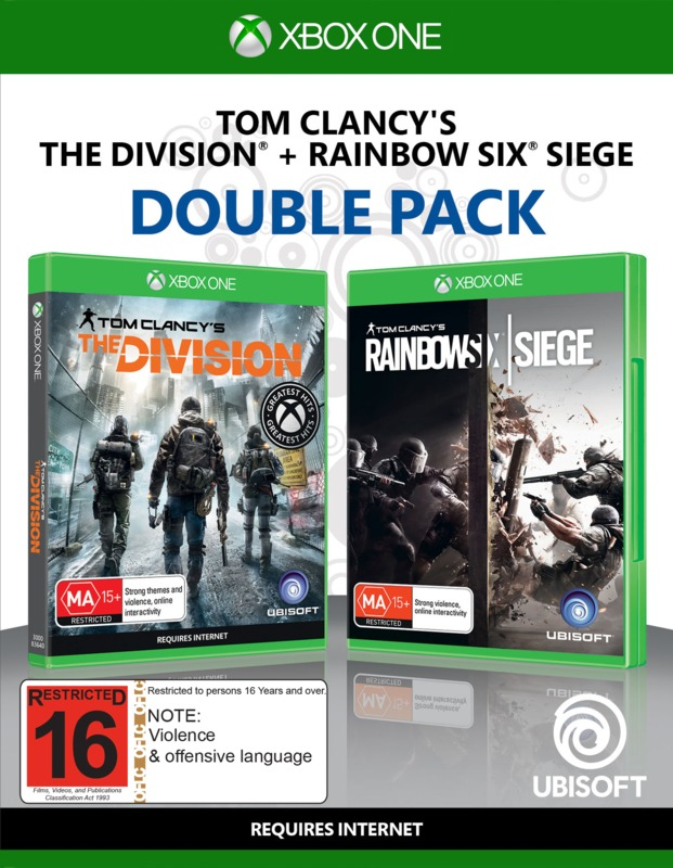 Tom Clancy's Rainbow 6 Siege & The Division Double Pack for Xbox One