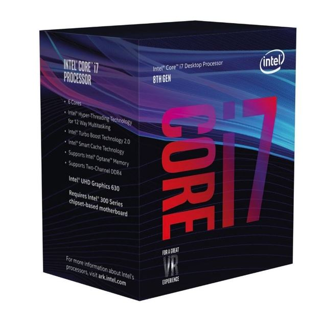 Intel Coffee Lake Core i7 8700 6-Core CPU