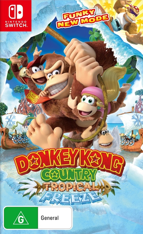Donkey Kong Country: Tropical Freeze for Switch