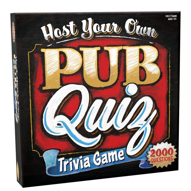 Host Your Own Pub Quiz - Party Game