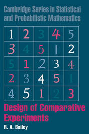 Design of Comparative Experiments by R.A. Bailey image