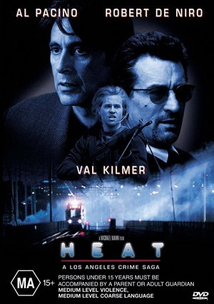 Heat on DVD image