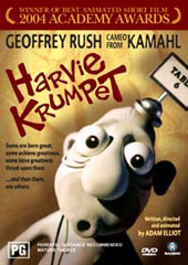 Harvie Krumpet on DVD