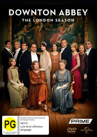 Downton Abbey: The London Season on DVD
