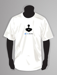 You Like Gaming White T-Shirt (Medium)