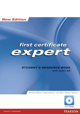 FCE Expert: Students Resource Book No Key image