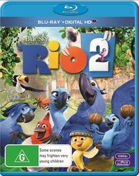 Rio 2 on Blu-ray, UV