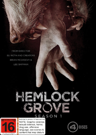 Hemlock Grove: Series 1 on DVD