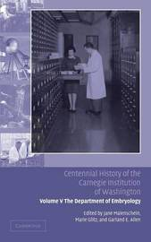 Centennial History of the Carnegie Institution of Washington: Volume 5