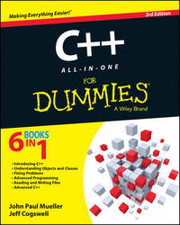 C++ All-in-One For Dummies by John Paul Mueller