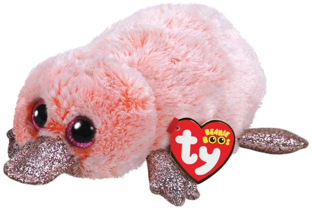 Ty Beanie Boo: Pink Platypus - Small Plush